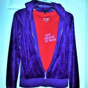"Cold Crush Tops - COLD CRUSH ""NOT AFRAID OF FEELS "" TOP MED/JRS NWOT"